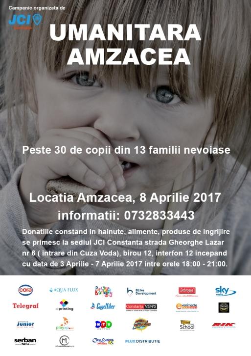 Afis Umanitara Amzacea- aprilie 2017