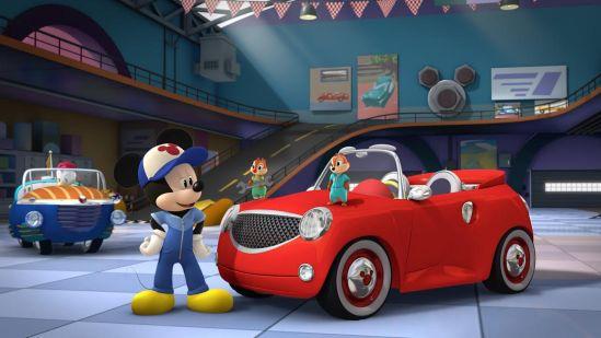 Mickey și piloții de curse3